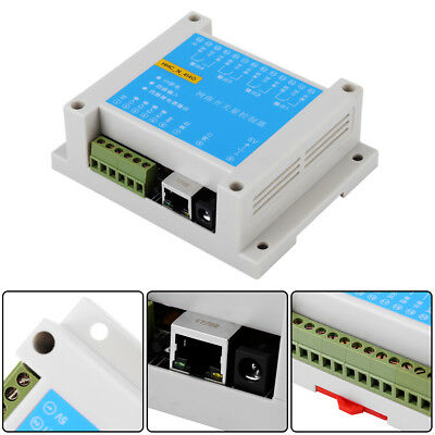 4-Way Network Relay Switch Quantity Input Intelligent Home Remote Control TCP/IP