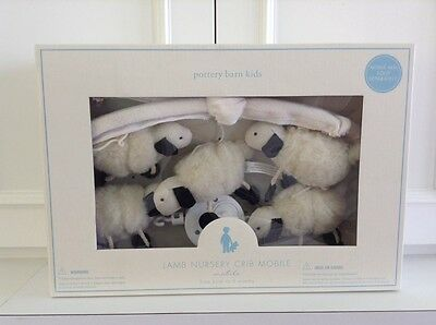 New In Brand New Sealed Packaging Pottery Barn Kids Lamb Nursery Crib Mobile