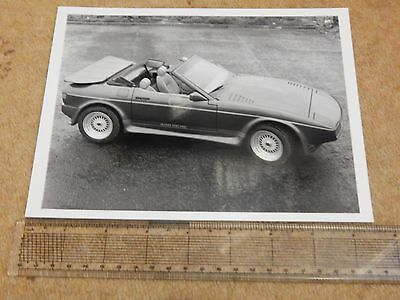 "TVR 420 SEAC press photo (UK - 1987) 8½"" x 6½"" (description on rear)"