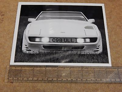 "TVR 420 SEAC frontal press photo (UK - 1986) 8½"" x 6½"""