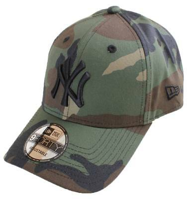 New Era 9FORTY League Essential New York Yankees Cap - Woodland Camo