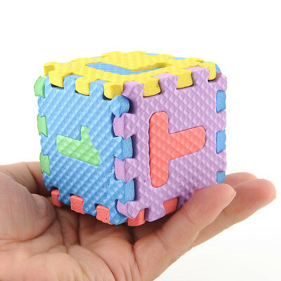 Colorful Interlocking EVA Foam Alphabet Letters Numbers Play+Learning Puzzle Mat