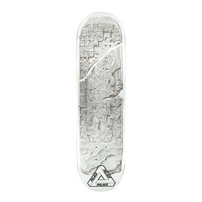 f92deb57c7c8 Palace Mayan One Skateboard Deck 8.3 Inch White New - Free Grip Fast  Shipping