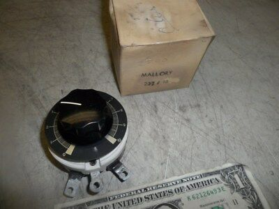 Mallory Type 50K 50 Watt Variable Ceramic Rheostat New In Box 2500 Ohm 0.141 A
