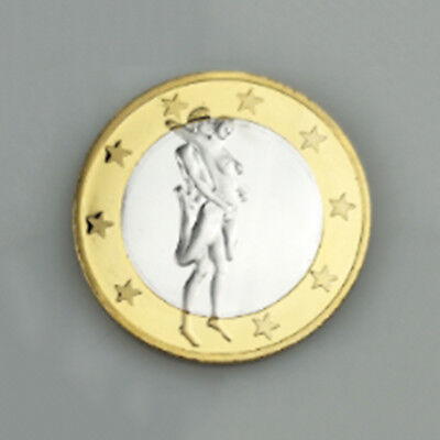 Germany Sexy Coins Europe Commemorative Coin Gold Coins Iron Medal Two Tone Gold