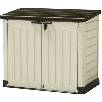 Keter Outdoor Garden Patio Storage Box Container Chest Large Mini