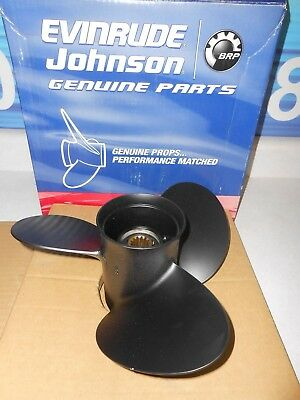 0778607 New Genuine Oem Johnson Evinrude Brp Propeller 11.8 X 11 Pitch Lot J1