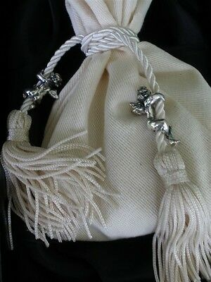 Giovanni Raspini Italy Heavenly Scented Sachet w Tassels & 925 Silver Angels