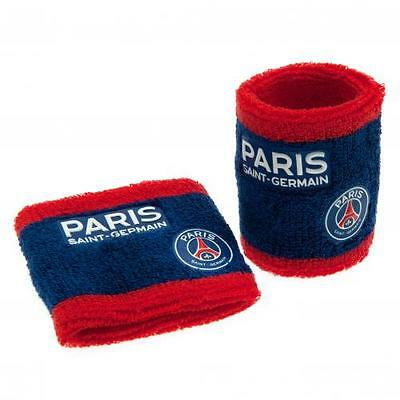 Paris Saint Germain Wristbands Sweatband Gift Official Licensed Football Product
