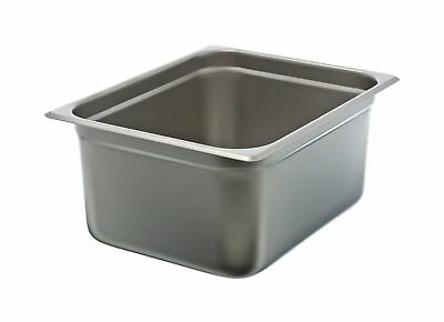 "Update International (NJP-506) 6"" Half-Size Anti-Jam Steam Table Pan"