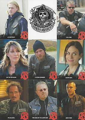 Sons Of Anarchy Trading Card Set