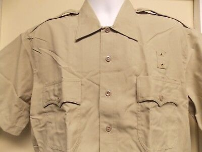 Elbeco Tan Tactical Short Sleeve Uniform Shirt Style 248