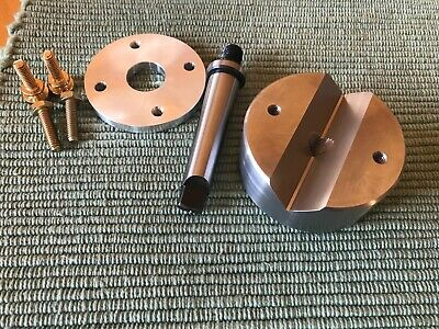 Lathe Crotch Center, Bench Block, MT-2 Arbor, Tailstock Drillpad