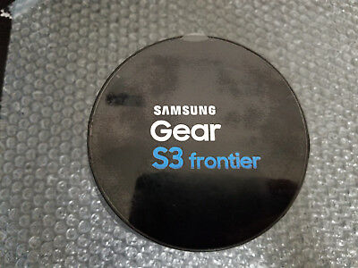 Brand New Sealed Box Samsung Galaxy Gear S3 Frontier Stainless R760 Space Gray