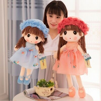 Little Girls plush Toys Cute Flower Fairy Mayfair Child Doll 5 Colors To Choose