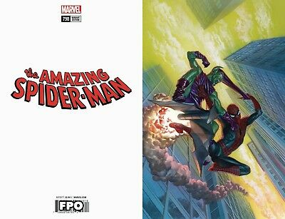 AMAZING SPIDERMAN 798 ALEX ROSS 1:100 VIRGIN VARIANT 1st FULL RED GOBLIN NM