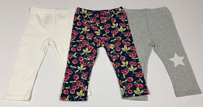Baby Toddler Girl Kids Gap Capri Leggings Pants 3 items package Size 3 years 3T
