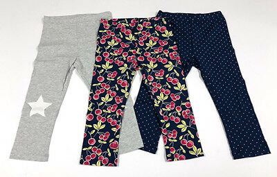 Baby Toddler Girl Kids Gap Capri Leggings Pants 3 items package Size 5 years 5T