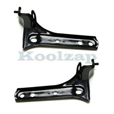 New Pair Set Front Bumper Bracket Side Support Retainer for 12-14 Toyota Camry