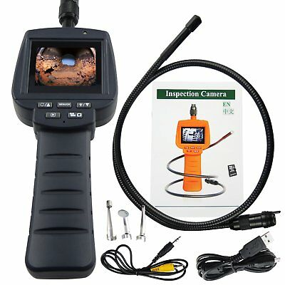 """2.4"""" HD Screen Inspection Camera Endoscope IP67 Snake Scope PAL / NTSC, 1M Cable"""