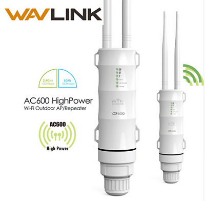 Wavlink Outdoor Wifi Repeater 2.4G+5GHz Wireless AP Repeater Wifi Extender GT