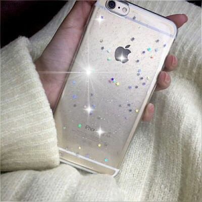 New Bling Glitter Diamond Soft Phone Back Case Cover For iPhone 6/7/8+ XS MAX XR
