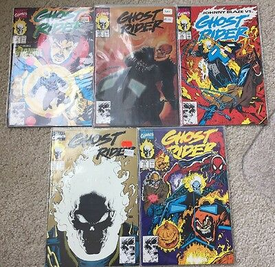 GHOST RIDER (5 Comics) #12 13 14 15 16 VF/NM Cond!