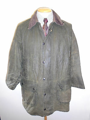 """Barbour A123 Gamefair Waxed jacket - M 40"""" Euro 50 in Sage Green"""