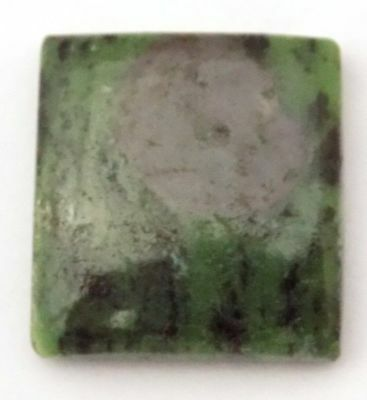 Ruby Zoisite Gemstone Smooth Cabochon Square Shape 21x19x5.5mm 29.50 Carat