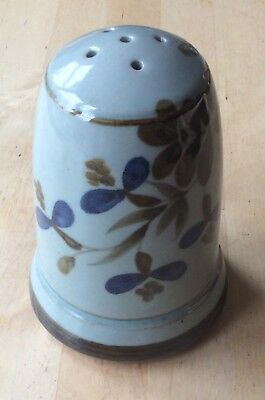 HIGHLAND STONEWARE - Pepper Pot - TRADITIONAL FLORAL PATTERN