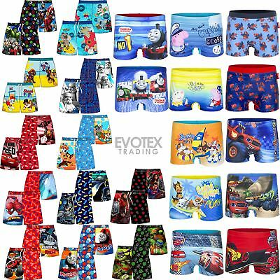Boys/Childrens Swim Shorts Swimming Trunks Age 18 Months - 10 Years