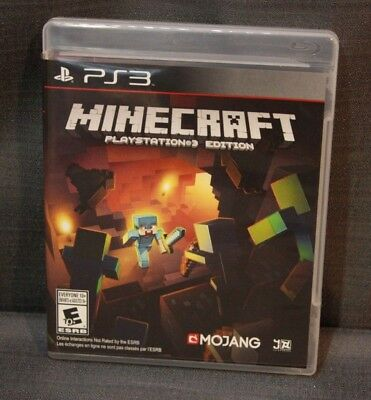 Minecraft PlayStation 3 Edition (Sony PlayStation 3, 2014) PS3 Video Game
