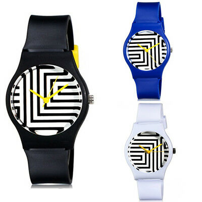 Fashion Zebra Pattern Student Quartz Watch Casual Hot Analog Quartz Wristwatch