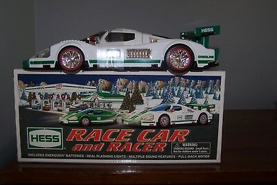 2009 HESS TRUCK - RACE CAR and RACER - BRAND NEW IN BOX ~ NIB