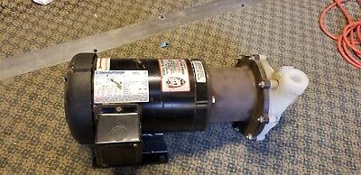March Te-7.5K-Md 2Hp Electric Mag Drive Pump W/march Fvf 182Ttfr5501Be P*xlnt*
