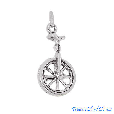Biker Bottes Moto 3D .925 Solid Sterling Silver Charm pendentif made in USA