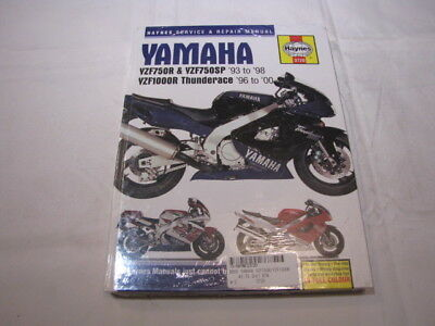 Haynes Yamaha Yzf750 Yzf1000 Thunderace   Workshop Manual Werkplaatshandboek