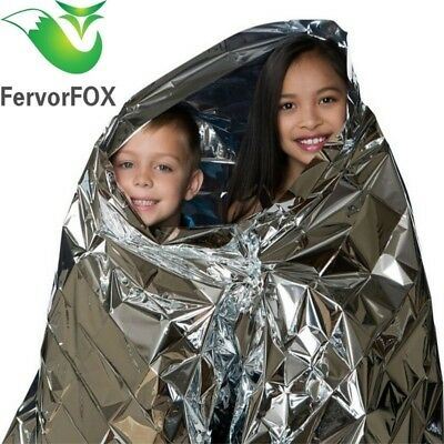 Water Proof Emergency Survival Rescue Blanket Foil Thermal Space First Aid