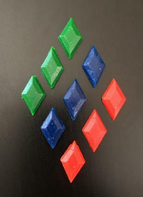 Candle Making Wax Dye Chips - 9 chips with choice of 3 colours