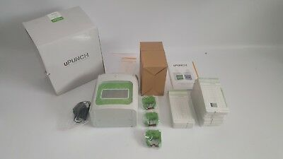 uPunch Small Business AutoAlign Time Clock Start-Up Kit (HN3540) HN3000 Clock