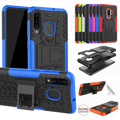 For Samsung Galaxy S9+ Plus Rugged Hybrid Armor Shockproof Hard Case Stand Cover