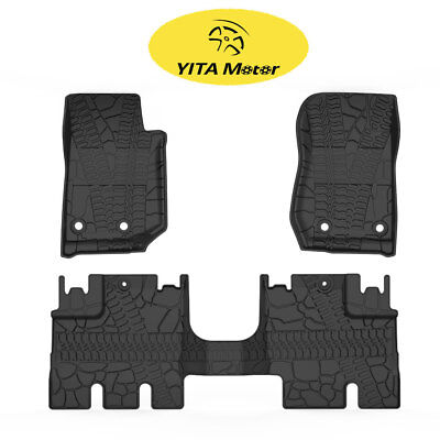 weathertech tj accessory all lj yj style mats jeep wrangler pin slush jk unlimited weather floor