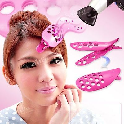 Pick 2Pc Girls Curler Roller Hair Pin Clip Accessories DIY Fringe Styling New