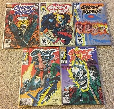 GHOST RIDER (5 Comics) #23 24 25 29 30 VF/NM Cond!