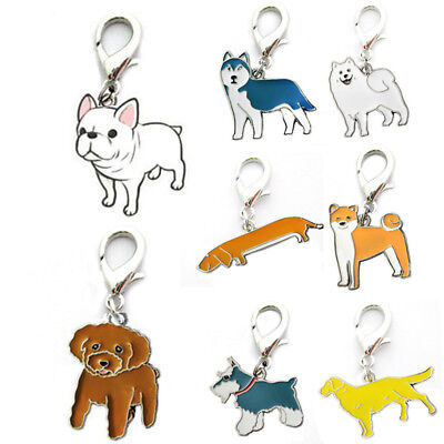 Cute Unisex Women Men Animal Dog Keychain Keyring Keyfob Key Accessories Gift