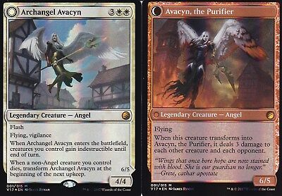 Archangel Avacyn / Avacyn, the Purifier FOIL | NM | FtV: Transform | Magic MTG