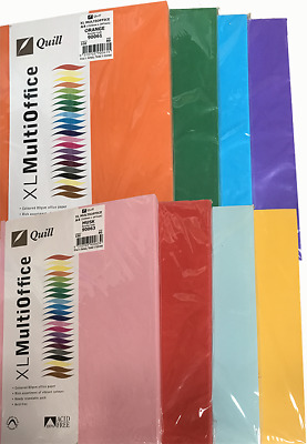 Brand New A4 Colour Paper 80gsm 20 Sheets Per Pack