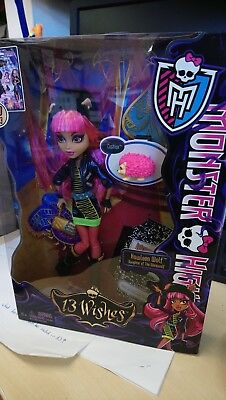 Monster High 13 wishes Howleen Wolf BNIB