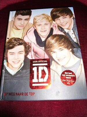 "One Direction ""Op weg naar de top"" 978-90-8941-921-7 (100 % Hardcover)"