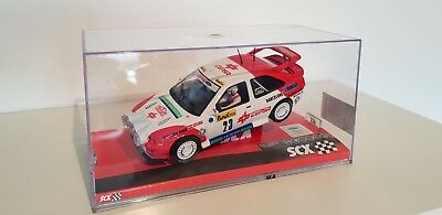 SCX Ford Escort RS SCALEXTRIC SLOT IT FLY